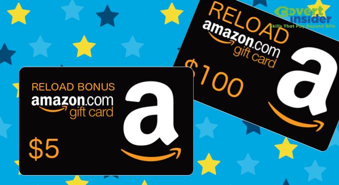 Amazon Gift Card Reload Bonus