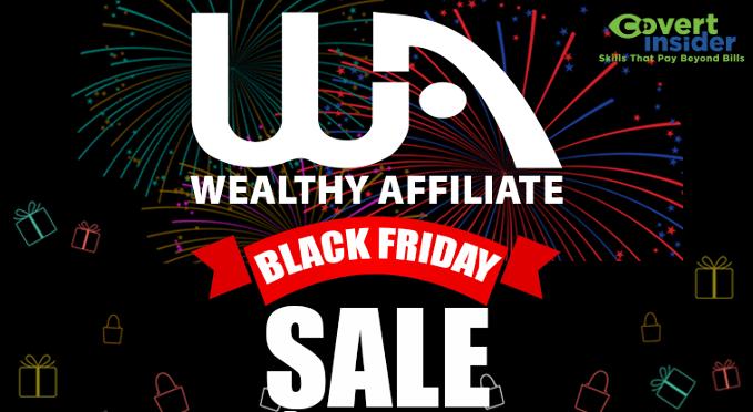 wealthy affiliate black friday sale